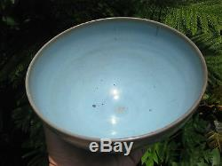 A large'JUN' turquoise bowl, attributed to SONG Dynasty, 18.8 cm