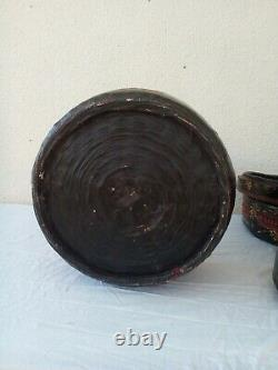 Antique/ vintage large four tier Chinese wedding/marriage/food basket. VGC