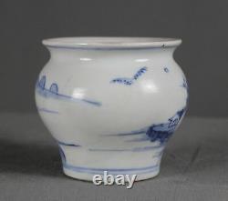 Chinese Shipwreck Ca Mau Cargo c1725 Large Porcelain Jarlet