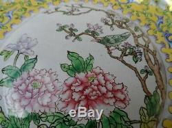 Fine Chinese 18th / 19th century Canton enamel box large box antique metal