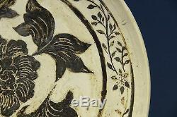 Jin Dynasty (1115- 1234) Large Carved Plate