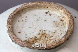 Korean Joseon Dynasty White Large Jar Vessel / H 27cm 5.82kg