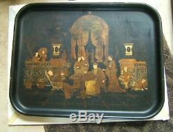 Large Chinese Lacquer Tray 19th Century