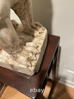 Large Extremely Rare Ming Dynasty Marble Lion