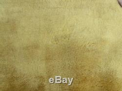 Old Traditional Hand Made Chinese Rug Oriental Gold Wool Large Carpet 383x283cm