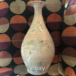 Rare Hoi An Hoard Viet. Indo Chinese 15th/16th c. Large Vase Birds Design