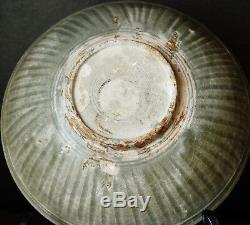 Song Dynasty Chinese shipwreck large Yaozhou kiln celadon porcelain bowl