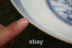 Very Large 18th Century Antique Chinese Blue and White Bowl