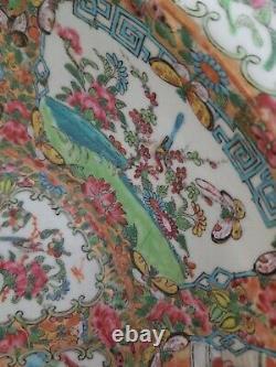 200 Ans Antique Porcelaine Chinoise Grand Bol