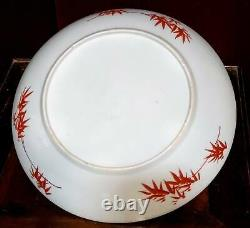 Antique Porcelaine Chinoise Grande Ming Swatow Style Dish Plate Phoenix Birds