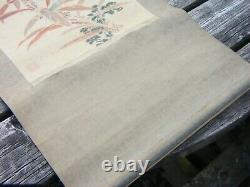 Antiquités Chinois Scroll Grand
