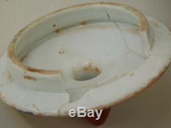 Au Début Du 20ème Siècle Grande Paire De Chinois Cantonais Lidded Pots / Gingembre Jars