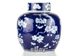C1700 Chinois Kangxi Grand Prunus Style Pot Gingembre