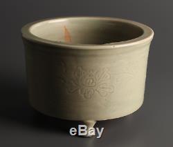 Chinois Song Yuan Grand Brûleur D'encens / W 19,5 X H 13,5 CM Qing Ming