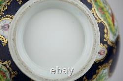 Grand Bol Chinois Antique De Poinçon De Porcelaine D'exportation (26cm)