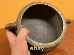 Grand Brûleur Chinois D'encens De Bronze De Dynastie De Qing Avec La Marque De Xuande 4.6kg