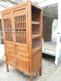 Grande Cuisine Antique Cuisine Laquée Chinoise / Armoire De Salle De Bain
