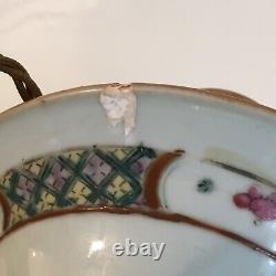 Grande Paire Antique Chinoise Vase Lampes De Table 53cm De Hauteur
