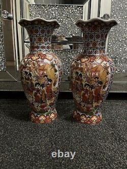 Grande Paire De Vases Chinois Antiques