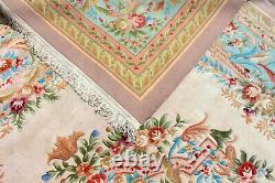 Grande Savonnerie Chinoise De Tapis D'aubusson 556 X 372 CM Tapis Épais De Pile De Laine
