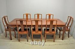 Grande Table À Manger Avec 8 Chaises Rosewood Hardwood Chinois Ming Livraison Avail