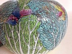 Intéressant Grand Pot De Gingembre En Céramique Signé Avec Six Marques De Caractère