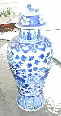 Les Grands Anciens Oiseaux Phénix Vase Design De La Dynastie Chinoise Des Ming