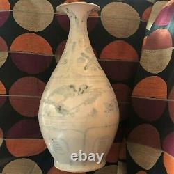 Rare Hoi An Hoard Viet. Indo Chinois 15e/16e C. Large Vase Birds Design