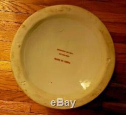 Tabac Original Antique Feuille Motif Vase En Porcelaine De Chine Très Grand