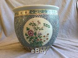 Une Grande Famille Chinoise Rose Porcelaine Jardinière De Christie