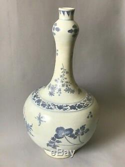 Une Grande Période De Transition Chinoise Hatcher Cargo Vase Bleu Et Blanc 17thc