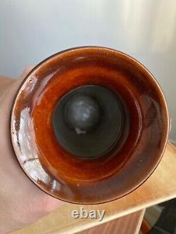 Vase À Oxblood/sang De Beouf Chinois Ancien Et Fin
