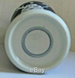 Vintage Chinois Bleu Et Blanc Prunus Grand Pot De Gingembre Double Blue Circle Mark